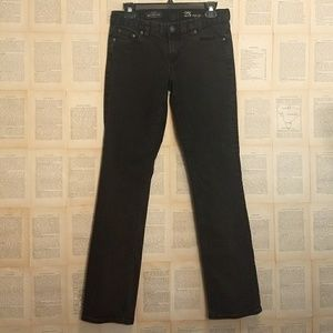 {J. Crew} Matchstick Jean in Pitch Black Wash